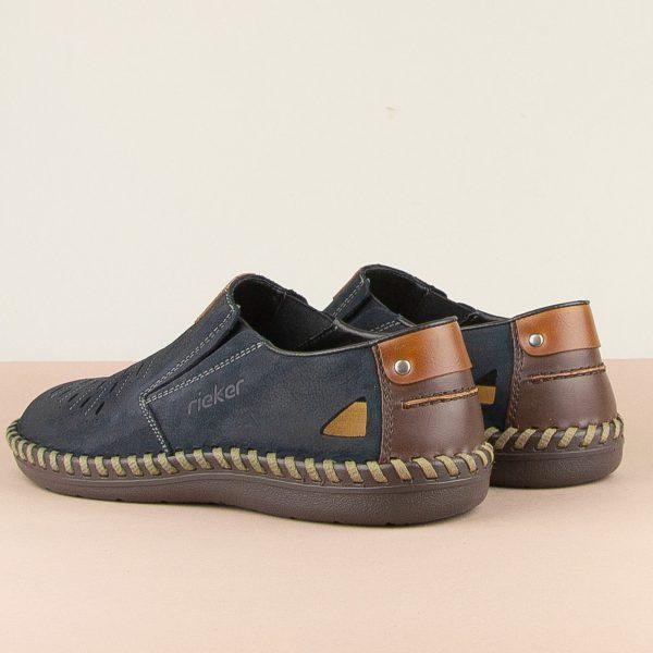 Чоловічі туфлі Rieker B2457-14 blue #2