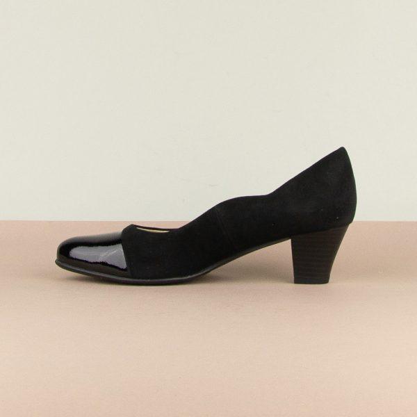 Туфлі Caprice 9-22410-065 Black Sue.Comb #3