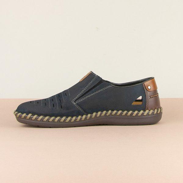 Чоловічі туфлі Rieker B2457-14 blue #3