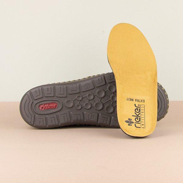 Чоловічі туфлі Rieker B2457-14 blue #5