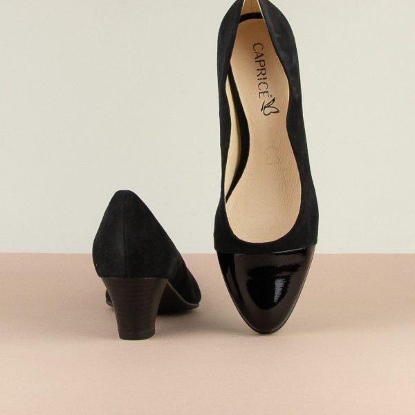 Туфлі Caprice 9-22410-065 Black Sue.Comb #6