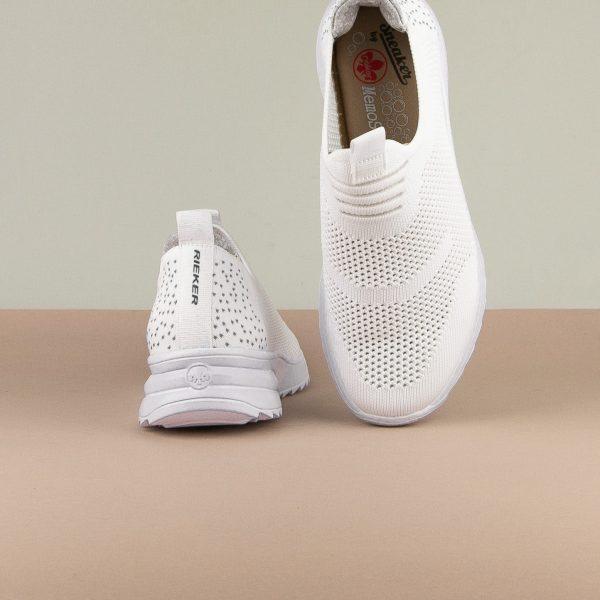 Кросівки Rieker N6670-80 White #6