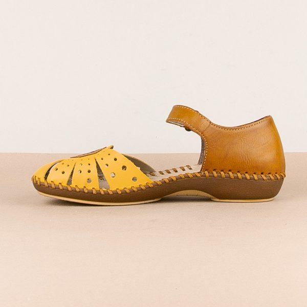 Сандалі  Rieker M1666-69 Yellow combination #3