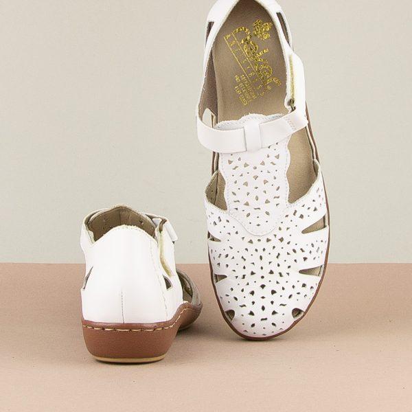 Сандалі  Rieker 45885-80 White #6