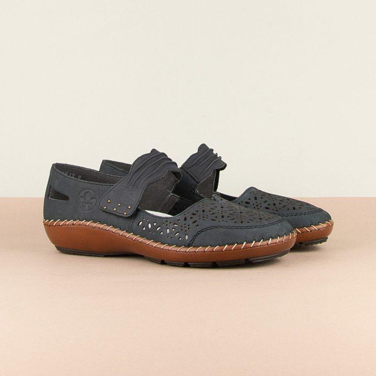 Туфлі Rieker 44896-14 Blue #1