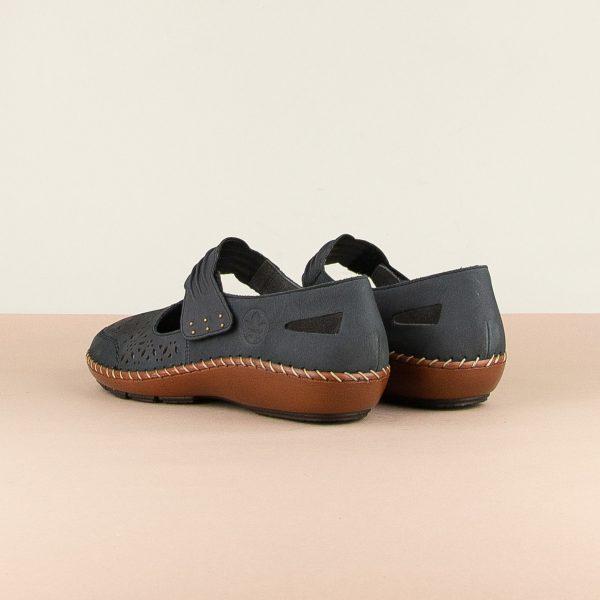 Туфлі Rieker 44896-14 Blue #2