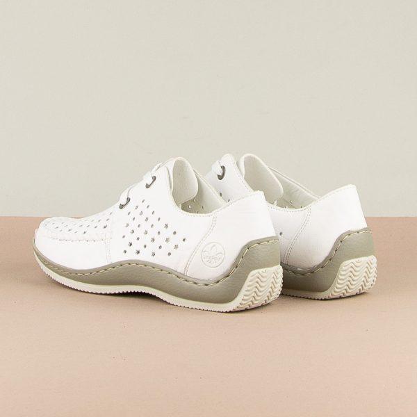 Туфлі  Rieker L1716-80 White #2