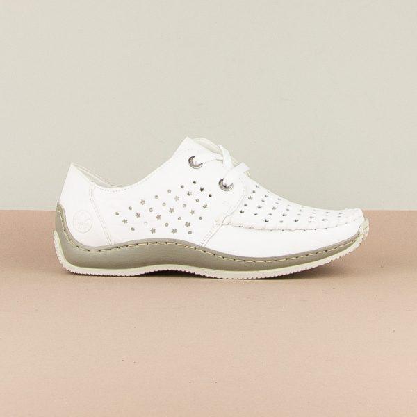Туфлі  Rieker L1716-80 White #4