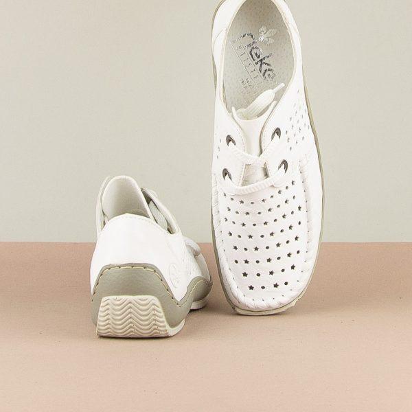 Туфлі  Rieker L1716-80 White #6