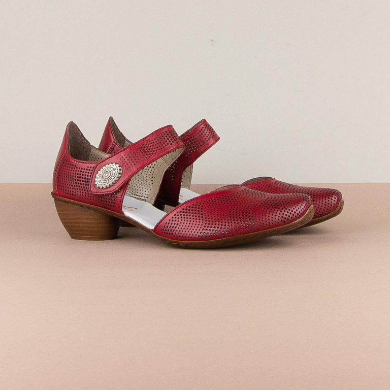 Туфлі Rieker 43767-33 Red #1