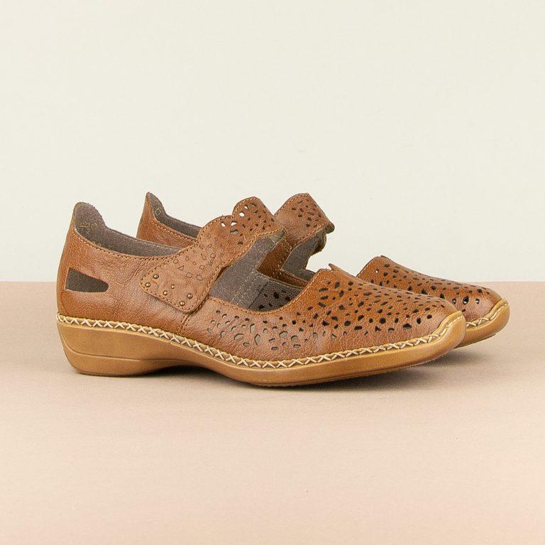 Туфлі  Rieker 41397-22 Brown #1