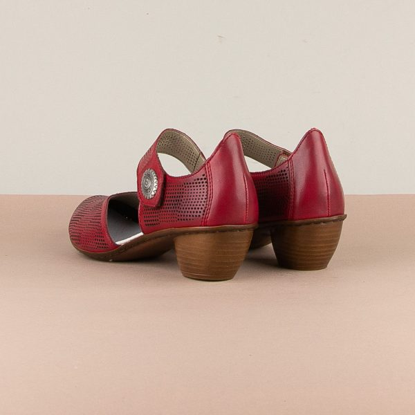 Туфлі Rieker 43767-33 Red #2