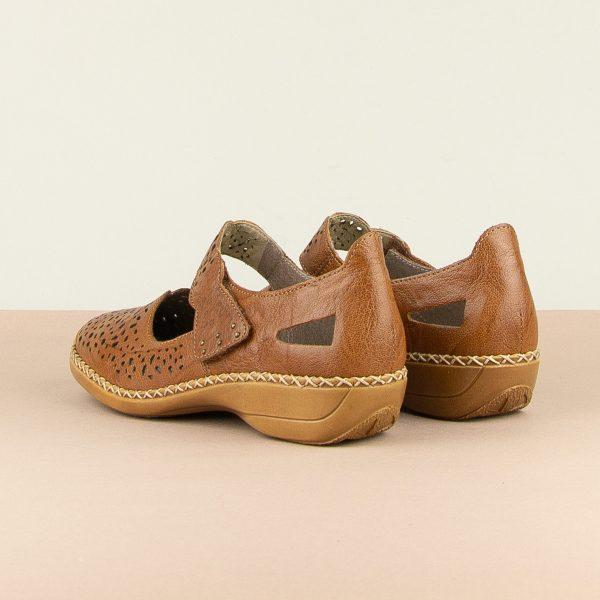 Туфлі  Rieker 41397-22 Brown #2