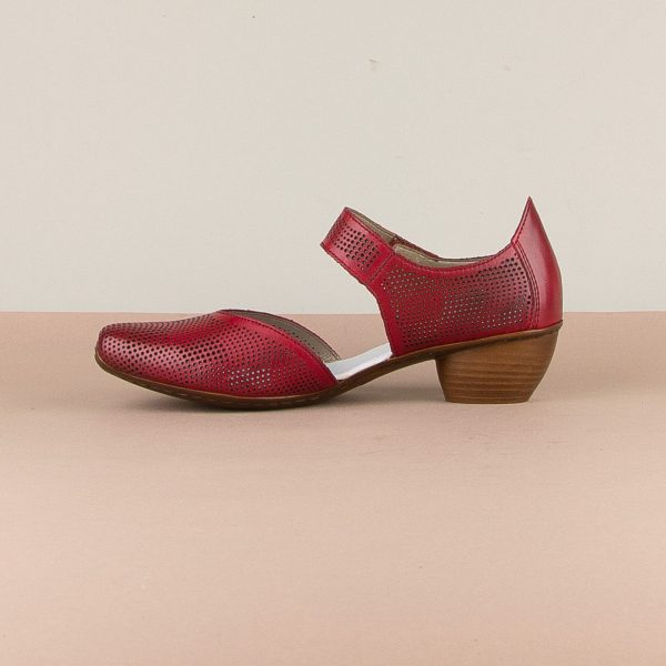 Туфлі Rieker 43767-33 Red #3
