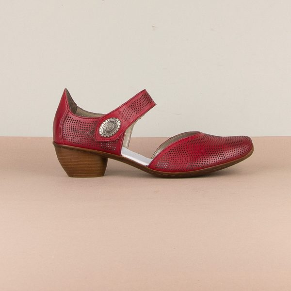 Туфлі Rieker 43767-33 Red #4