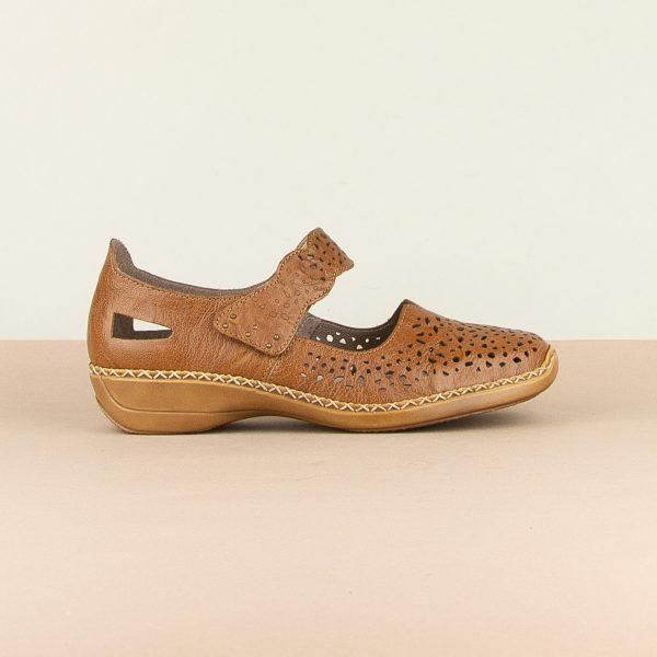 Туфлі  Rieker 41397-22 Brown #4