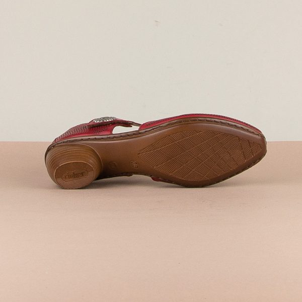 Туфлі Rieker 43767-33 Red #5