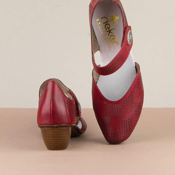 Туфлі Rieker 43767-33 Red #6