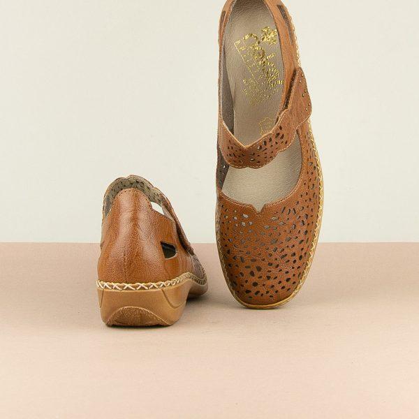 Туфлі  Rieker 41397-22 Brown #6