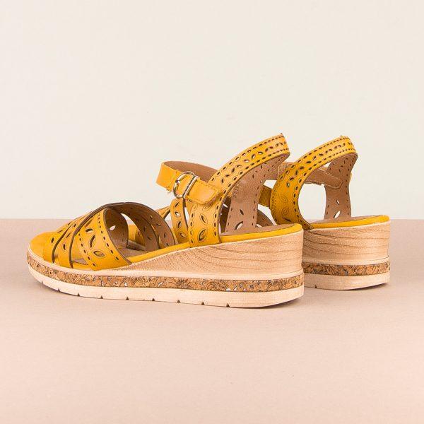 Сандалі  Remonte D3055-68 Yellow #2
