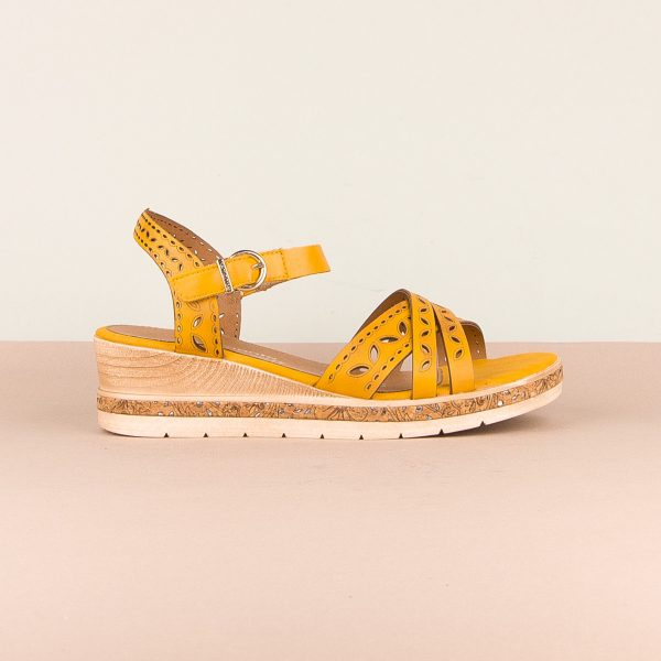 Сандалі  Remonte D3055-68 Yellow #4