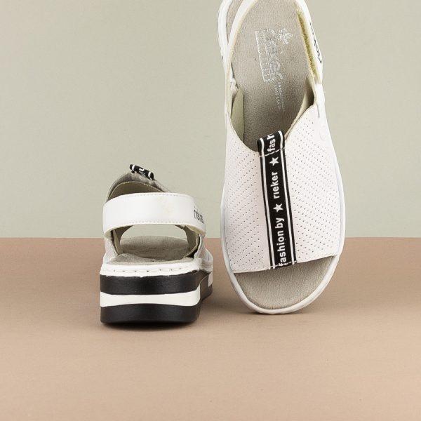 Сандалі Rieker V5915-80 White #6