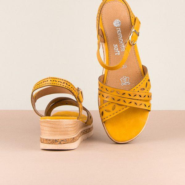 Сандалі  Remonte D3055-68 Yellow #6
