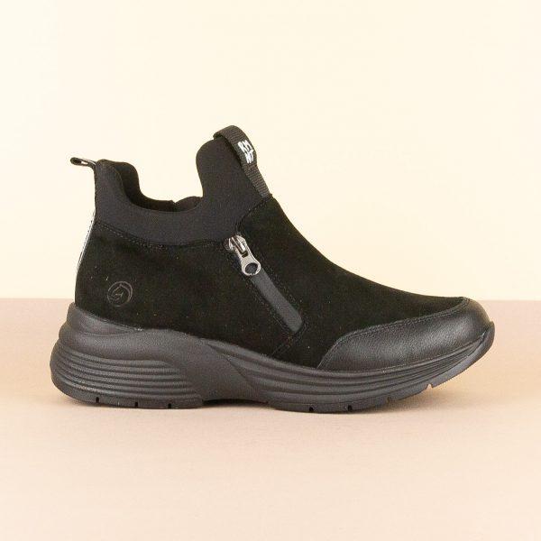 Черевики Remonte D6676-02 Black #4