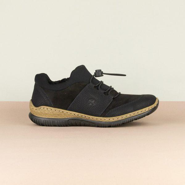 Кросівки Rieker N32X8-00 Black #4
